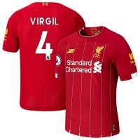 Футбольная форма Ливерпуль VIRGIL 4 домашняя 2019-2020