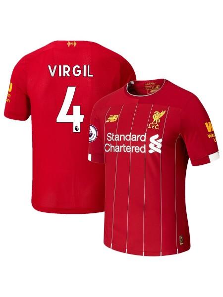 Детская футбольная форма Ливерпуль VIRGIL 4 домашняя 2019-2020