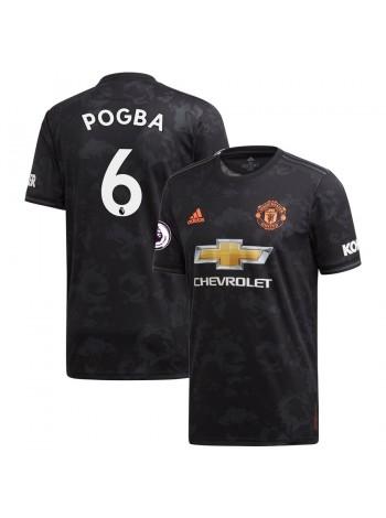 купить Детская футбольная форма  Манчестер Юнайтед POGBA 6 резервная 2019-2020