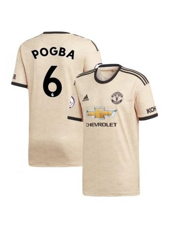 купить Детская футбольная форма  Манчестер Юнайтед POGBA 6 выездная 2019-2020
