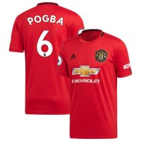 Футбольная форма Манчестер Юнайтед POGBA 6 домашняя 2019-2020