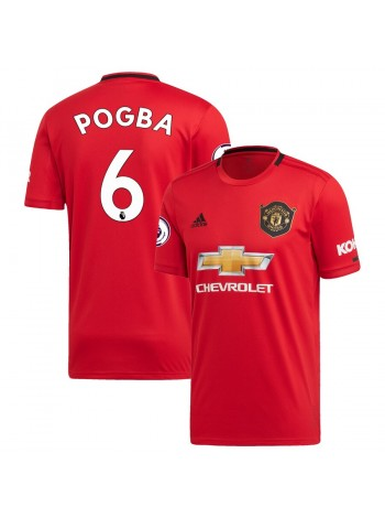 купить Детская футбольная форма  Манчестер Юнайтед POGBA 6 домашняя 2019-2020