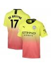 купить Детская футбольная форма Манчестер Сити DE BRUYNE 17 резервная 2019-2020
