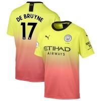 Футбольная форма Манчестер Сити DE BRUYNE 17 резервная 2019-2020