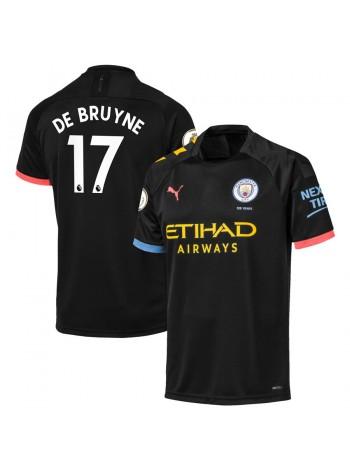 купить Детская футбольная форма Манчестер Сити DE BRUYNE 17 выездная 2019-2020