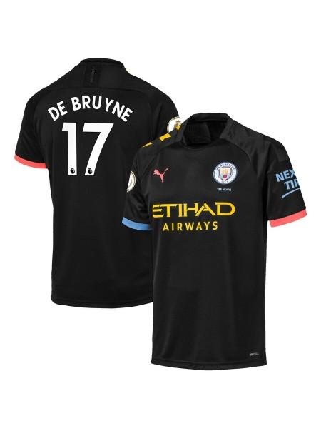 Детская футбольная форма Манчестер Сити DE BRUYNE 17 выездная 2019-2020