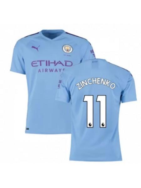Футбольная форма Манчестер Сити ZINCHENKO 11 домашняя 2019-2020