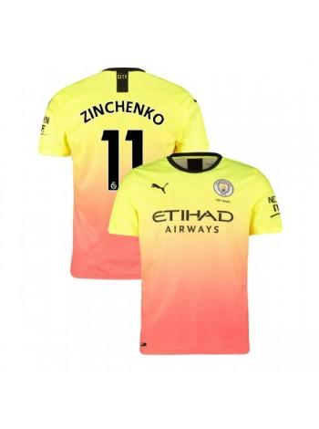 купить Детская футбольная форма Манчестер Сити ZINCHENKO 11 резервная 2019-2020