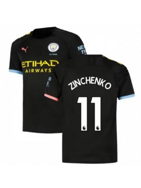 Детская футбольная форма Манчестер Сити ZINCHENKO 11 выездная 2019-2020