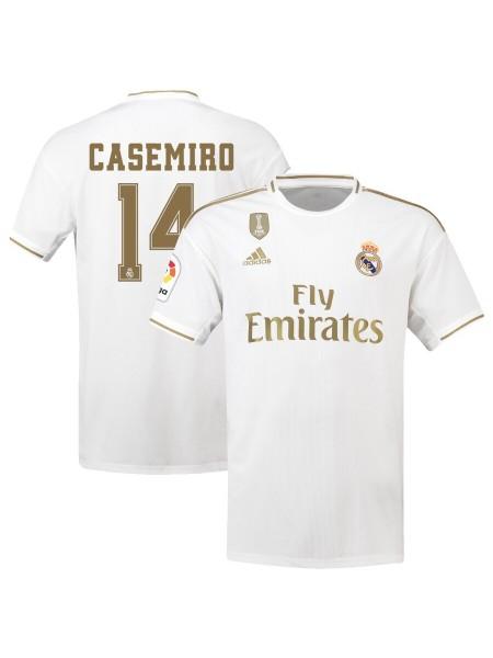 Детская футбольная форма Реал Мадрид CASEMIRO 14  домашняя 2019-2020