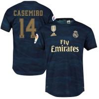 Футбольная форма Реал Мадрид CASEMIRO 14  выездная 2019-2020
