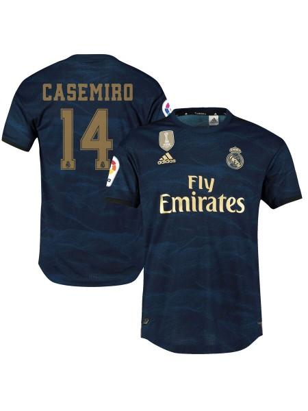 Детская футбольная форма Реал Мадрид CASEMIRO 14 выездная 2019-2020