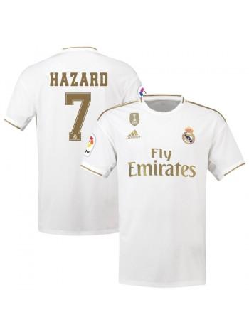 купить Детская футбольная форма Реал Мадрид HAZARD 7 домашняя 2019-2020