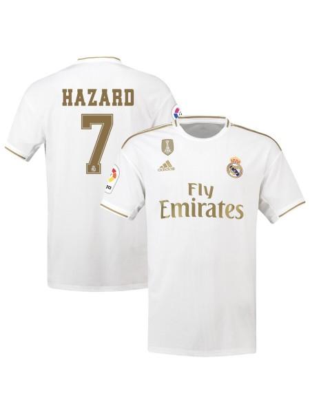 Детская футбольная форма Реал Мадрид HAZARD 7 домашняя 2019-2020
