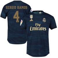 Футбольная форма  Реал Мадрид SERGIO RAMOS 4  выездная 2019-2020