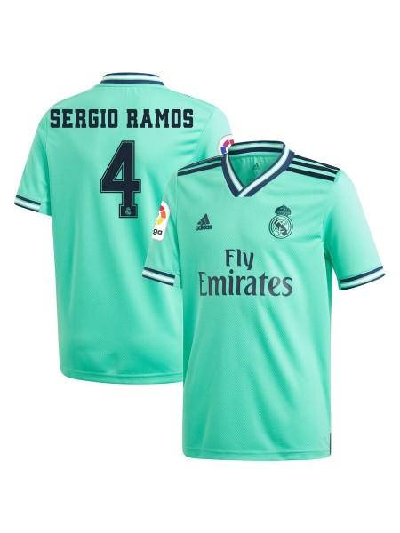 Детская футбольная форма Реал Мадрид  SERGIO RAMOS 4 резервная 2019-2020