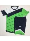 купить Футбольная форма Europaw 1008 зелено-т.синяя