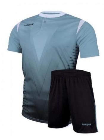 купить Детская футбольная форма Europaw 1011 голубая