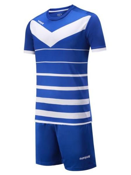 Детская футбольная форма Europaw 1014 синяя