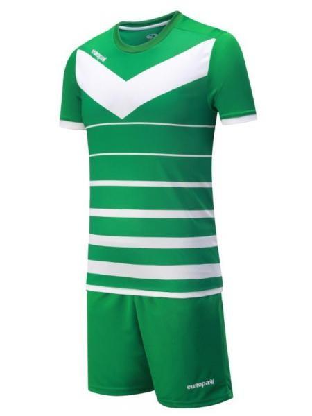 Детская футбольная форма Europaw 1014 зеленая