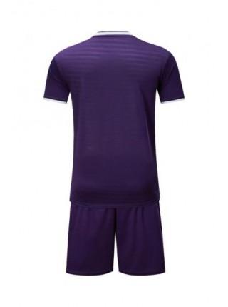 Детская футбольная форма Europaw 1015 фиолетовая