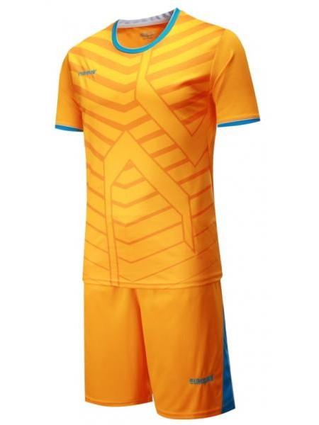 Детская футбольная форма Europaw 1015 оранжевая