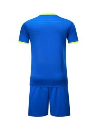 Детская футбольная форма Europaw 1015 синяя