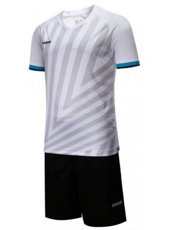 купить Детская футбольная форма Europaw 1016 бело-черная