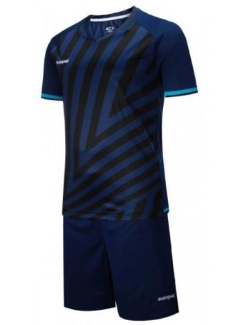 купить Детская футбольная форма Europaw 1016 т.сине-бирюзовая