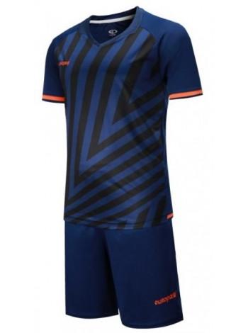 купить Детская футбольная форма Europaw 1016 т.сине-оранжевая
