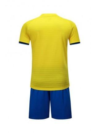 Детская футбольная форма Europaw 1016 желто-синяя