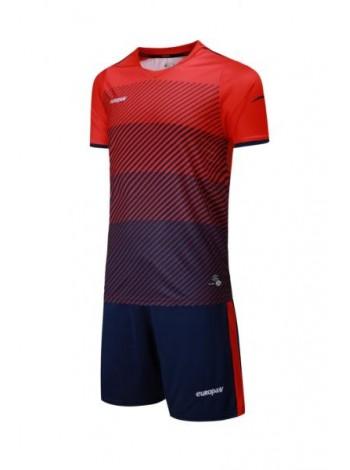купить Футбольная форма Europaw 1017 красно-синяя