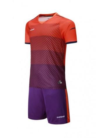 купить Футбольная форма Europaw 1017 оранжево-фиолетовая