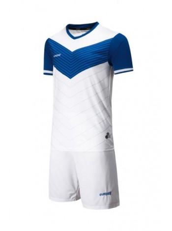 купить Футбольная форма Europaw 1019 бело-синяя