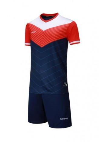 купить Футбольная форма Europaw 1019 сине-оранжевая