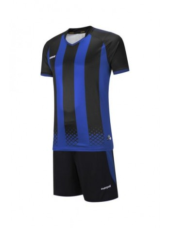 купить Футбольная форма Europaw 1020 черно-синяя