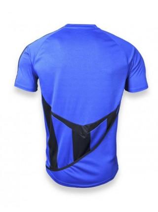 Детская футбольная форма Europaw 1001-1 сине-черная