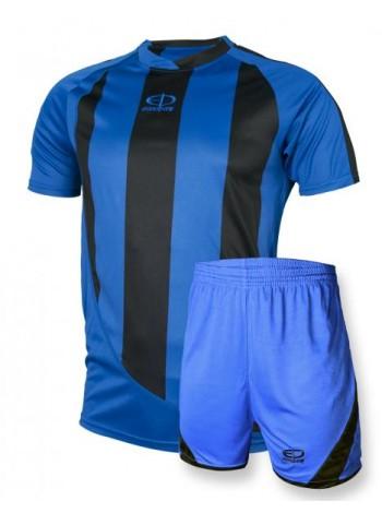 купить Детская футбольная форма Europaw 1001-1 сине-черная