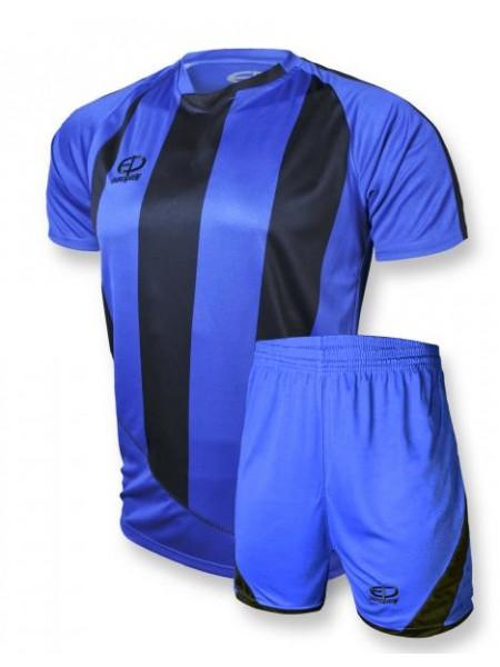 Детская футбольная форма Europaw 1001 сине-черная