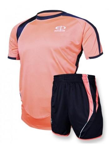 купить Футбольная форма Europaw 1003 кораллово-т.синяя