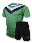 купить Детская футбольная форма Europaw 1004 зелено-черная