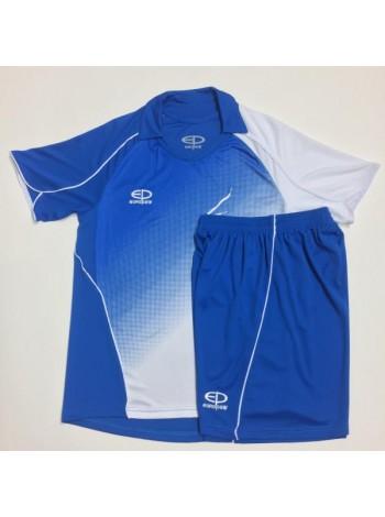 купить Детская футбольная форма Europaw 1007-17 сине-белая