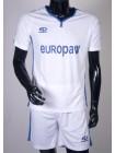 купить Футбольная форма Europaw 1009 бело-синяя