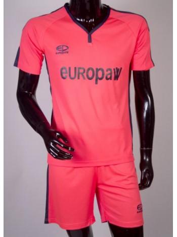 купить Футбольная форма Europaw 1009 розово-т.синяя