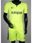 купить Детская футбольная форма Europaw 1009 салатово-т.синяя