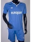купить Детская футбольная форма Europaw 1009 сине-белая