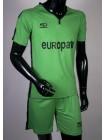 купить Футбольная форма Europaw 1009 зелено-черная
