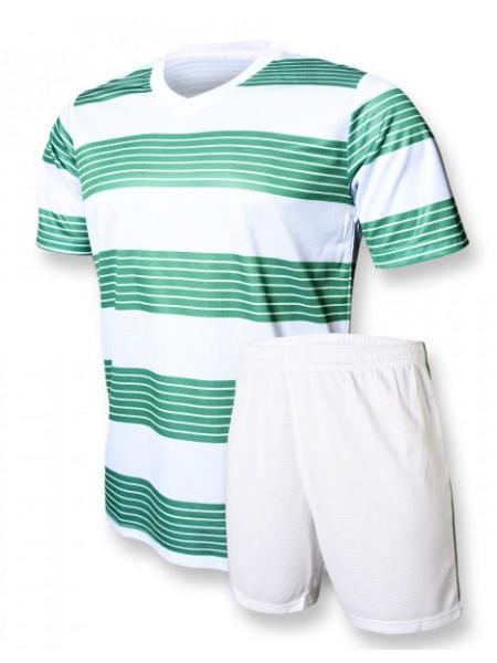 Футбольная форма Europaw club бело-зеленая