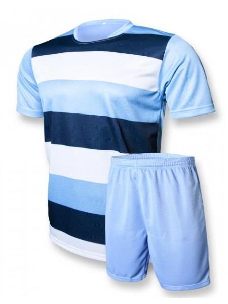 Футбольная форма Europaw club голубо-т.синяя