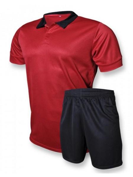Футбольная форма Europaw club красно-черная